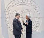Глава МВФ призвала Порошенко ускорить реформы на Украине
