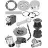 Производство запасных частей:  шток 2П30-1-1,  шток 2П19-1-3,  сальник 2П19-2,  поршни,  гильзы,  цилиндры,  вал коленчатый и др