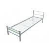 Кровать односпальная металлическая